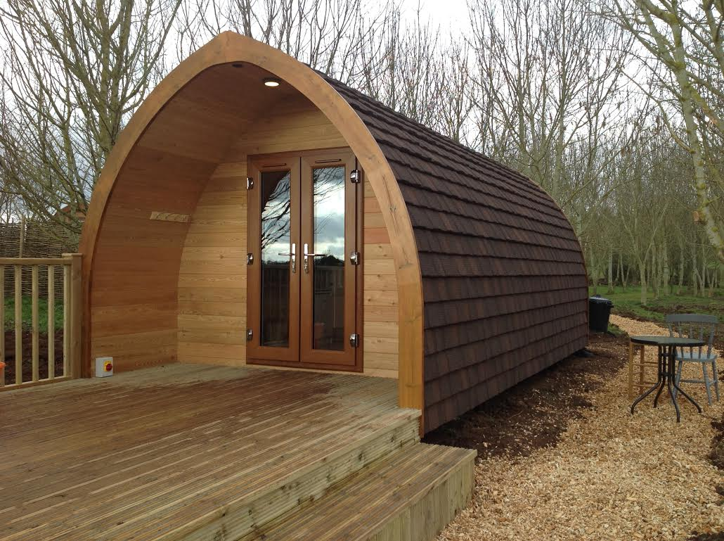 Installed Premier Plus Glamping Pod Henley In Arden