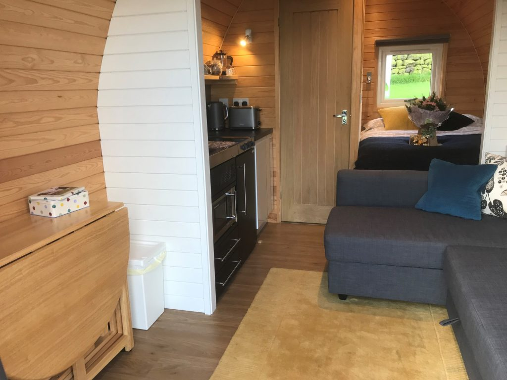 Yorkshire glamping pods